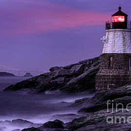 Castle Hill Lighthouse by Jerry Fornarotto