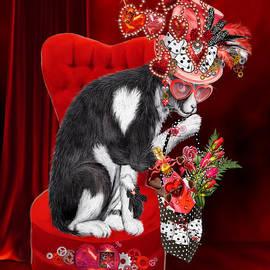 Cat In The Valentine Steam Punk Hat