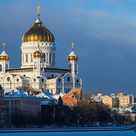 Alexander Senin - Cathedral Of Christ The Savior In wintrertime