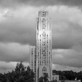 Cathedral of Learning BW by Joyce  Wasser