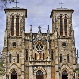 Cathedral Of San Fernando by Heather Applegate