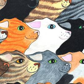 Cat's On Parade by Jane Loveall