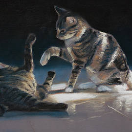 Christopher Reid - Cats Playing