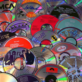 CD Collage by Gary Gingrich Galleries