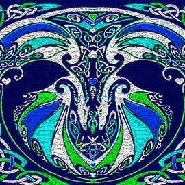 Celtic Love Dragons by Michele Avanti