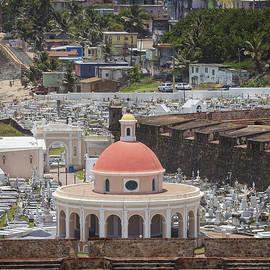 Cemetery In Old San Juan Puerto Rico by Bryan Mullennix