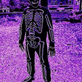 Ed Weidman - Central Park Skeleton
