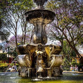Central Square Fountain by Victor Marsh