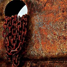 Chained To The Past And Rusted by Danielle  Parent