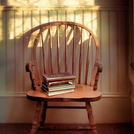 Jill Battaglia - Chair and Lace Shadows