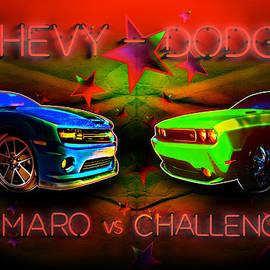 Chas Sinklier - Challenger vs Camaro Under the Big Tent