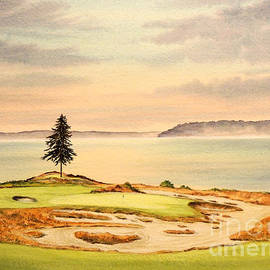 Bill Holkham - Chambers Bay Golf Course Hole 15
