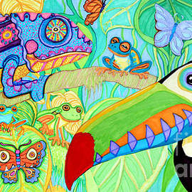Chameleon and Toucan by Nick Gustafson