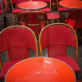 Champs Elysees Cafe by Inge Johnsson