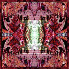 Chaotic Butterfly Mandala by Georgiana Romanovna