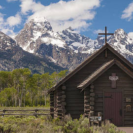 Brian Harig - Chapel Of The Transfiguration - Grand Teton National Park Wyoming