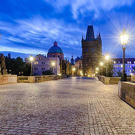 Michael Abid - Charles Bridge in Prague at night