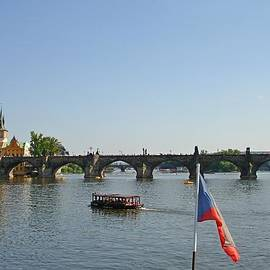 Jeff at JSJ Photography - Charles Bridge of Prague from the Vltava River Cruise