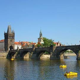 Jeff at JSJ Photography - Charles Bridge of Prague on a Clear Day