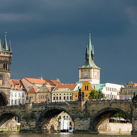 Charles Bridge Prague by Matthias Hauser