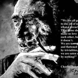 Charles Bukowski by Richard Tito