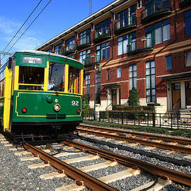 Charlotte Light Rail Trolley by Joseph C Hinson