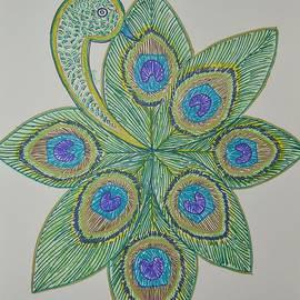 Sonali Gangane - Charming Bird drawing