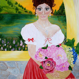 Oksana Semenchenko - Charming Woman. Inspirations Collection.
