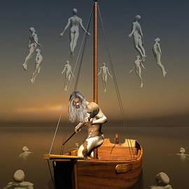 Charon boatman by Quim Abella