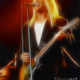 Gary Gingrich Galleries - Cheap Trick-95-Robin-2-Fractal