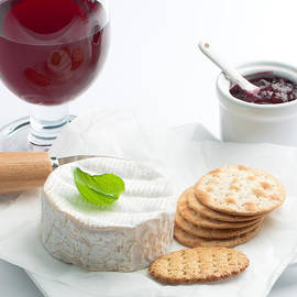 Amanda Elwell - Cheese And Crackers With Wine