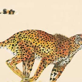 Cheetah Painting by Lisa Bentley