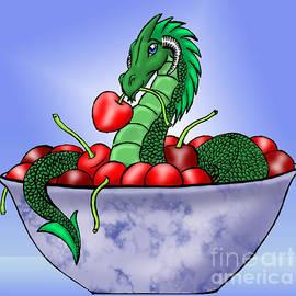 Cherry Dragon by Elaine Goicea