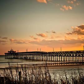 Cherry Grove Pier Myrtle Beach SC by Trish Tritz