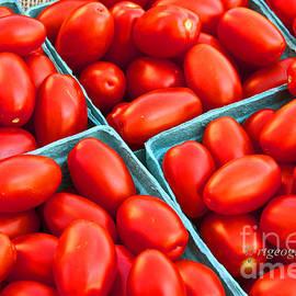 Cherry Tomatoes by Regina Geoghan