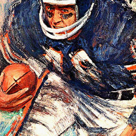 Big 88 Artworks - Chicago Bears 1966 Vintage Print