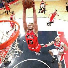 Chicago Bulls V Washington Wizards by Ned Dishman
