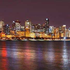 Chicago Lights by Leda Robertson