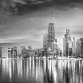 Lindley Johnson - Chicago Reflections BW