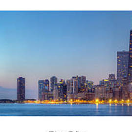 Twenty Two North Photography - Chicago Skyline at Dawn