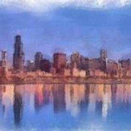Chicago Skyline by Maciek Froncisz