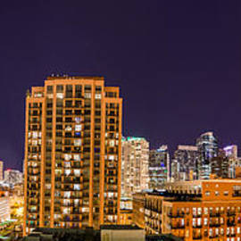 Chicago Skyline Photography October 2014 by Michael  Bennett