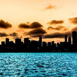 Semmick Photo - Chicago Skyline Silhouette