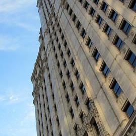 Chicago Wrigley Building 3 by Anita Burgermeister