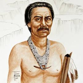 Chief Manuelito - Navajo 1800's by Art By - Ti   Tolpo Bader