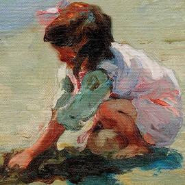 Mathias Alten - Child at the Beach Valencia