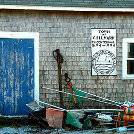 Chilmark Dock Shack by Kathy Barney