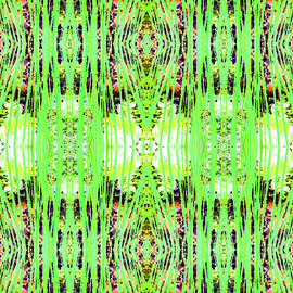 Barbara Moignard - Chive Abstract Green