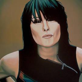 Paul Meijering - Chrissie Hynde Painting