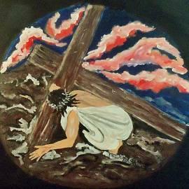 Bevie Sams - Christ Carrying His Cross